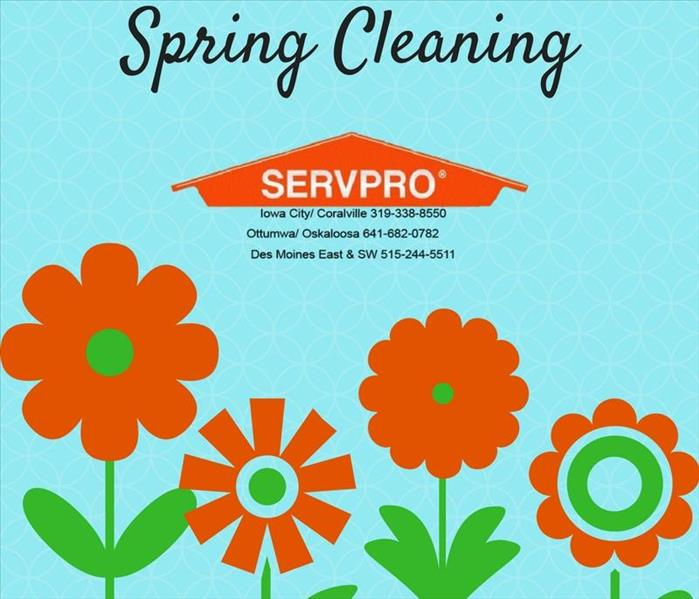 Cleaning Spring Cleaning will be a breeze when you contact SERVPRO of Des Moines SW