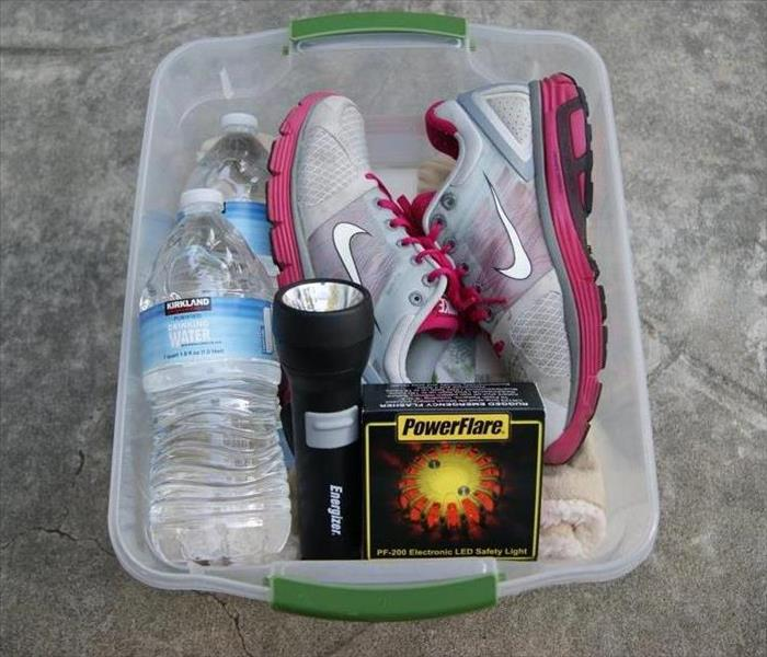an example emergency kit